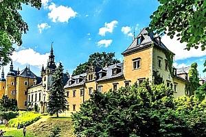Královský pobyt pro 2 osoby na Zámku Kliczków **** v Polsku na 3 nebo 4 dny s polopenzí....