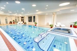 Vysoké Tatry v hotelu Končistá **** s polopenzí a neomezeným wellness s bazénem...