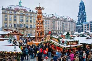 1denní adventní zájezd pro 1 osobu do Drážďan a Pirny a návštěva vánočních trhů...