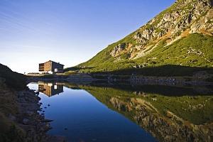 Sliezský dom **** ve výšce 1670 m n. m. v Tatrách s masáží...
