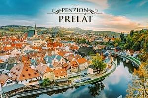 Český Krumlov pro dva se snídaněmi v Penzionu Prelát***...