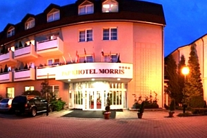3denní dámská jízda pro dva v Parkhotelu MORRIS ****, wellness procedury, vířivka a sauna....