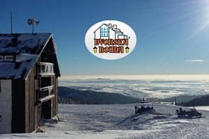 Zimní Krkonoše pro dva na 3-6 dní s polopenzí a saunou...