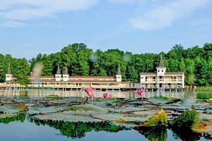 Hévíz se vstupenkou k termálnímu jezeru v Hotelu Erzsébet *** s wellness...