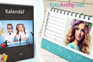 Nástěnný či stolní kalendář s vlastními fotkami: formát A3, A4