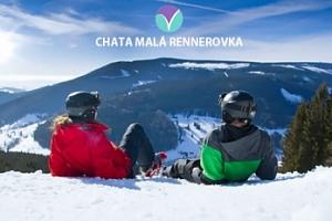 Krkonoše v TOP zimní sezóně pro dva s polopenzí a saunou...
