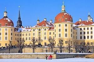 Drážďany: trhy a návštěva zámku Moritzburg (z pohádky Popelka)...