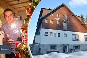 Vánoce v Josefově Dole, 4-5 dní pro 1 či 2 osoby + polopenze, sauna...