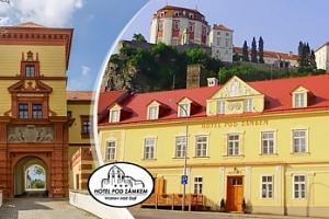 Jarní Vranov nad Dyjí v Hotelu Pod Zámkem pro dva s polopenzí...