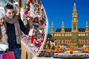 1denní výlet pro 1 osobu do Adventní Vídně na vánoční trhy...