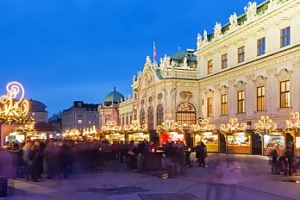 1 denní výlet na vánoční trhy do adventní Vídně...