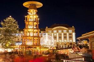 Výlet do adventních Drážďan na vánoční trhy pro 1 osobu...