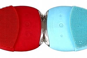 Voděodolný silikonový čistící kartáček pleti. Vhodný je pro ženy i pro muže....