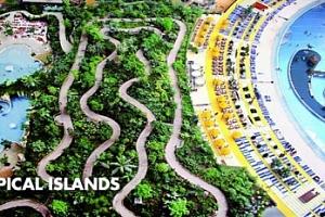 Německo, Tropical Islands: 1denní výlet pro 1 osobu vč. vstupu...
