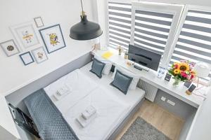 Krakov v Corner Hotelu *** přímo v centru v apartmánu s kuchyňkou a snídaní...