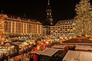 Advent a nákupy v Drážďanech - vánoční trhy i Primark...