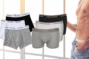 Pánské boxerky Calvin Klein nebo Tommy Hilfiger...