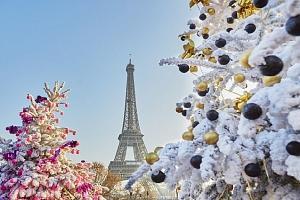 3denní víkendový adventní zájezd pro 1 za romantikou do Paříže...