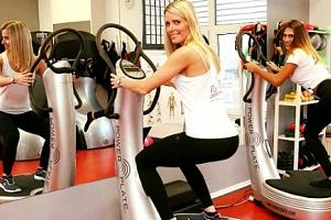 10 vstupů na Power Plate s osobní trenérkou v pražském fitness Red Fit...
