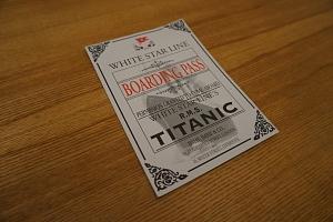 Úniková hra Titanic...