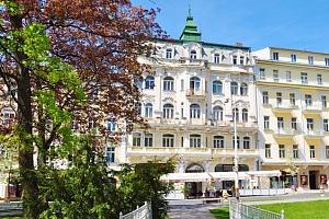 3 nebo 6denní wellness pobyt s plnou penzí pro 2 v hotelu Polonia v Mariánských Lázních...