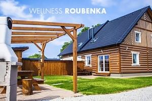Luxusní roubenka s wellness na Třeboňsku až pro 9 osob na 3 dny...