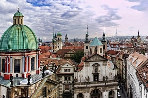 4* Hotel Ehrlich nedaleko centra Prahy se snídaní...