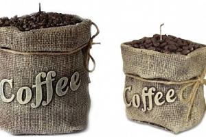 Krásná vonná svíčka káva. Dekorační svíčka ideální pro milovníky kávy a její úžasné vůně....