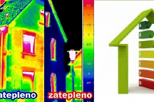Ušetřete náklady za provoz domu díky diagnostice termovizním měřením...
