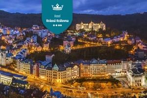Karlovy Vary: 3-4 dny pro dva s možností polopenzí a vstupem do lázní...
