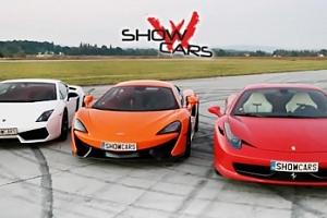 Jízda v supersportech na 20 minut - výběr z 6 automobilů...