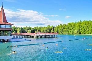 Jezero Hévíz pro dva s polopenzí s neomezeným wellness...