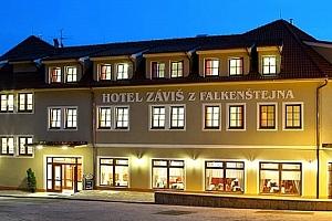 Luxusní pobyt pro dva ve 4* hotelu Záviš z Falkenštejna pár kroků od zámku Hluboká, snídaně, večeře....
