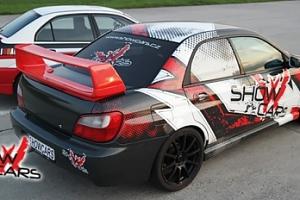 Závodní den v Mitsubishi a Subaru na Showcars v Hradišti...