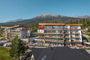 Dovolená v Tatrách ve zcela novém Hrebienok Resortu v Tatrách...