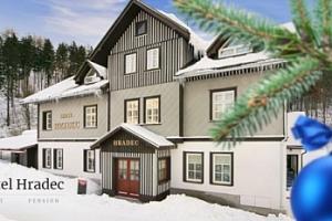 Vánoce ve Špindlerově Mlýně pro dva na 5 dní s polopenzí, wellness...