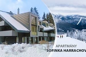 Apartmán v Harrachově pro 2 osoby a 2 děti do 15 let + půjčení kol...