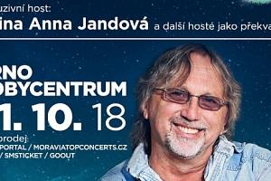 2 VIP vstupenky na koncert Dalibora Jandy 31.10.2018 v Brně...