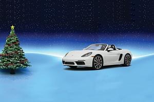 VÁNOČNÍ AKCE: Zážitková jízda v Porsche Boxster...