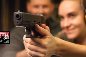 Zážitková střelba ze 7-15 druhů zbraní...