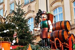 Advent v Sasku - Pirna, pevnost Kőnigstein, vánoční Drážďany...