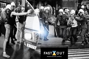 Nová úniková hra Fast Out dle skutečných událostí pro 2-5 hráčů: Návrat do roku 1989, Praha 1...