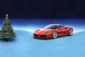 VÁNOČNÍ AKCE: Zážitková jízda v Lamborghini nebo Ferrari...