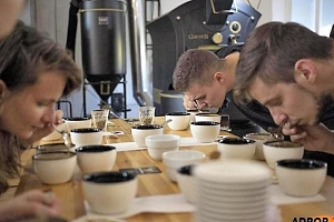 Degustace kávy a cupping...