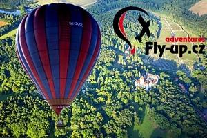 Vyhlídkový let v balónu pro 2 osoby...