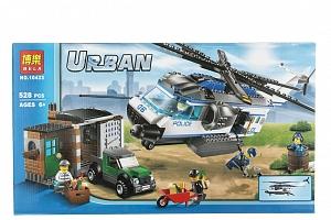 BELA Urban city Stavebnice Policejní hlídka - 528 ks...