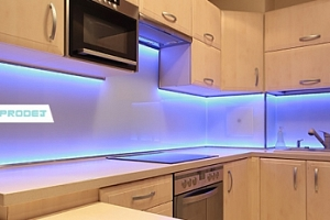 LED barevný pásek na vnitřní i venkovní použití...