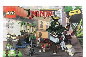 Agesledades Ninja Stavebnice City Docks - 740 ks...