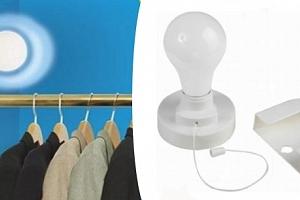 plastová bezdrátová žárovka...