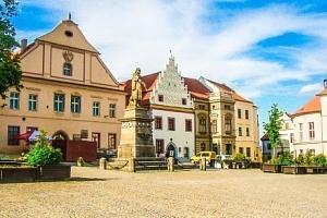 Jižní Čechy: Tábor v Hotelu Slávia se snídaní a kávou + děti do 6 let zdarma...